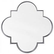 Simple Quatrefoil Mirror