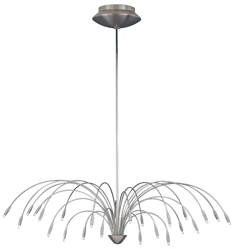 Staccato Chandelier 20 Chrome 700stac20c