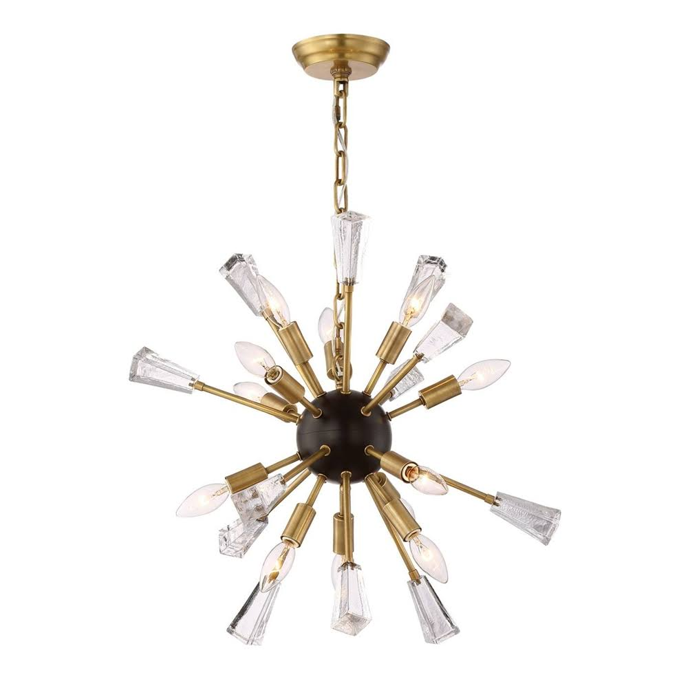 Muse chandelier 24 brass