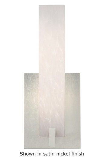 Cosmo Wall Sconce White Frit