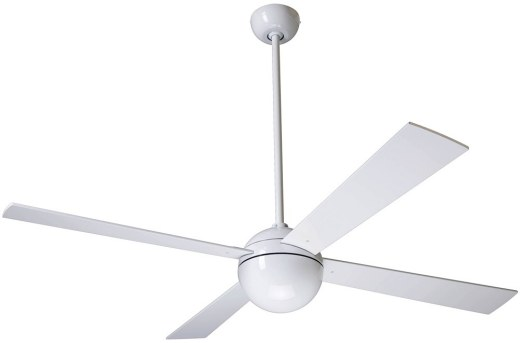 Ball Fan Gloss White
