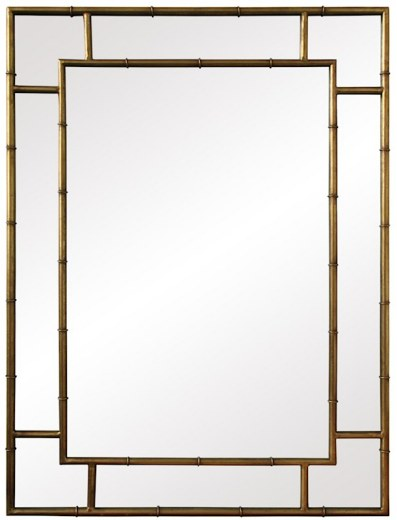 Iron Bamboo Mirror
