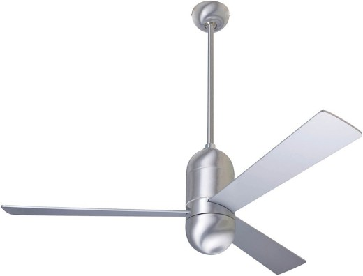 Cirrus Fan Brushed Aluminum