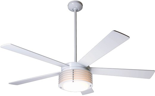 Pharos Fan Gloss White