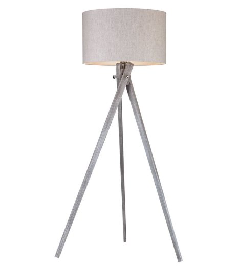 Whitney Tripod Floor Lamp Ash