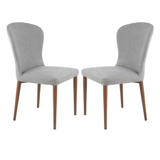 Crestview Dining Chair Grey (Set of 2)