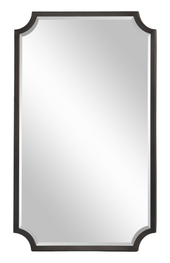 Clara Mirror Black Nickel