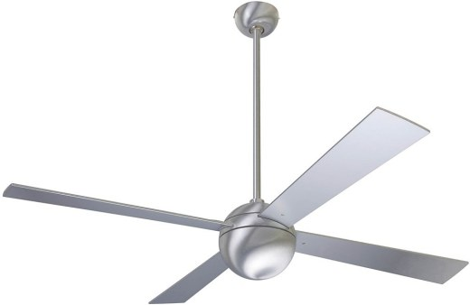 Ball Fan Brushed Aluminum