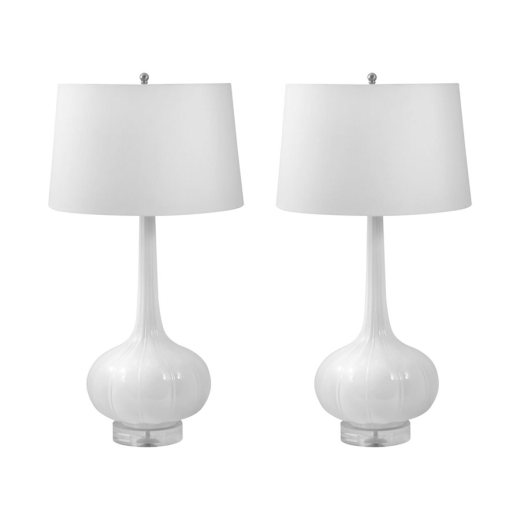 Erica Porcelain Lamps (Set of 2)
