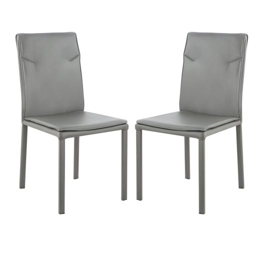 Tashkent Vegan Leather Chair (Set of 2)