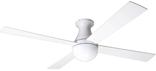 Ball Hugger Fan Gloss White