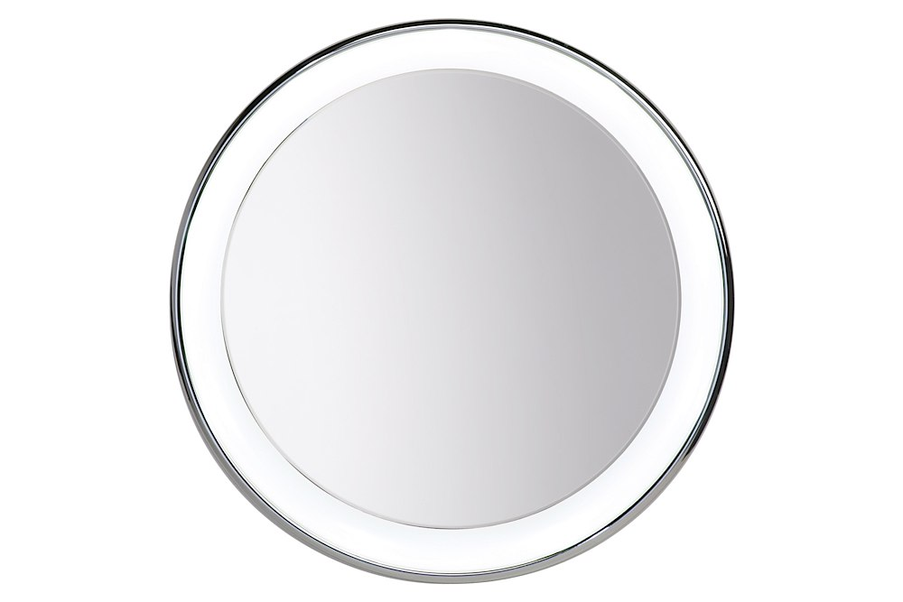 Vanity Mirror With Recessed Lights : Tigris Round Vanity Mirror Recessed Chrome 700BCTIGRR30C Mirrors by Tech Lighting