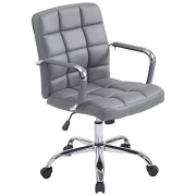 Caroline Office Chair Grey