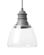 Stratton Pendant Small Clear