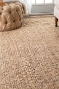 Ashleigh Jute Rug Natural