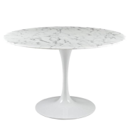 "Serena 48"" Artificial Marble Dining Table"