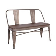 Erica Bench With Elm Wood Seat