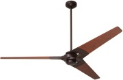Torsion Fan Dark Bronze | Mahogany
