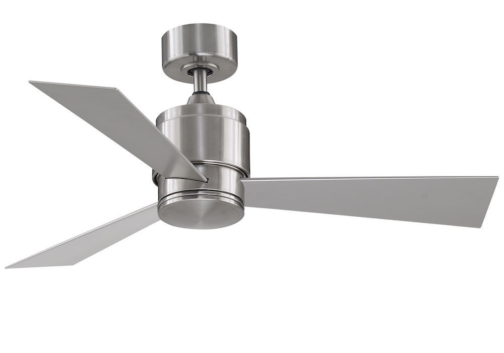 Fanimation zonix custom 44 ceiling fan in brushed nickel ma4660bnw zonix custom 44 fan brushed nickel aloadofball