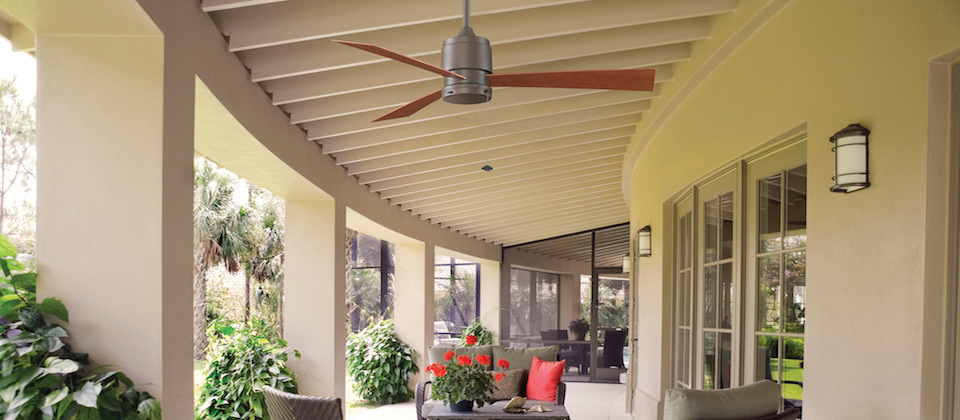 make your patio an outdoor oasis with the cooling breeze of an exterior ceiling fan shop our huge selection of patio fans from modern traditional or - Patio Fans